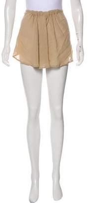 Ann Demeulemeester High-Low Mini Skirt