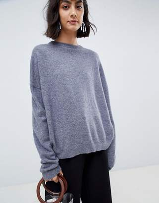 Asos 100% cashmere sweater with crew neck