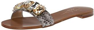 Lola Cruz Women's Jeweled Slide Sandal