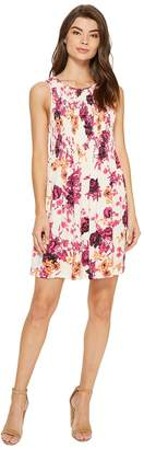 Kensie Japanese Floral Garden Dress KS7K7165 Women's Dress