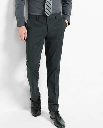 Express Extra Slim Charcoal Dress Pant