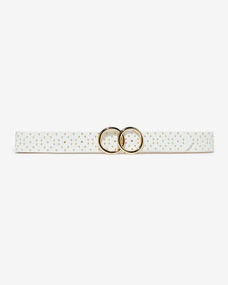 Express Double O-Ring Studded Belt