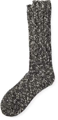 Ralph Lauren Cotton-Blend Ragg Crew Socks