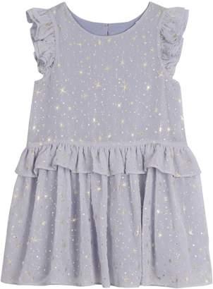 Pastourelle Little Girl's Star Ruffle Peplum Dress