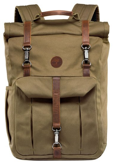 Timberland Men's Timberland 'Walnut Hill' Canvas Backpack - Black