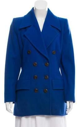 Saint Laurent Vintage Double-Breasted Coat