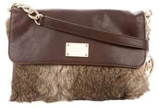 Michael Kors Michael Fur Crossbody Bag