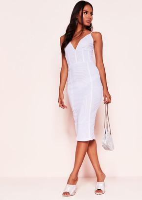 673b3ef7c31 Missy Empire Missyempire Alivia White Mesh Midi Dress