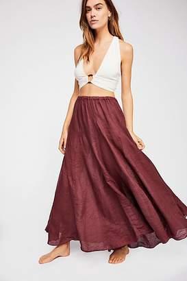 Cp Shades Lily Linen Maxi Skirt