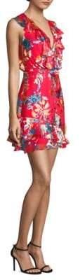 Saloni Cece Silk Dress