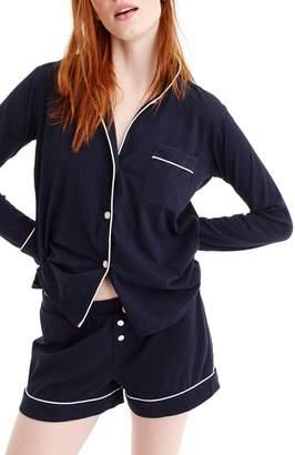 J.Crew Dreamy Short Cotton Pajamas