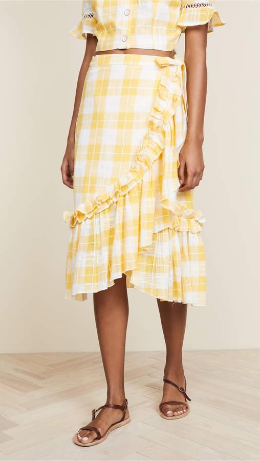 Lucila Wrap Skirt