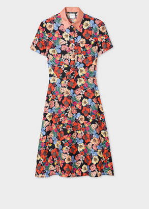 Paul Smith Women's 'Wild Garden' Floral A-Line Dress