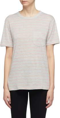 Alexander Wang Chest pocket stripe T-shirt