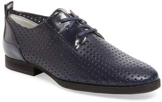 Jil Sander Navy Women's Perforated Leather Oxford
