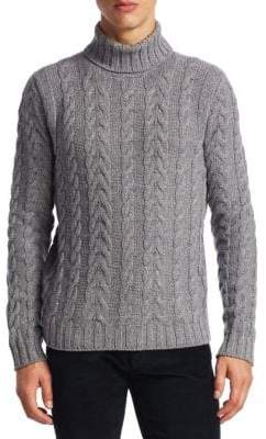 COLLECTION Turtleneck Knitted Sweater