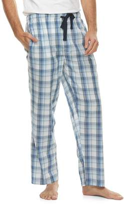 Van Heusen Men's Broadcloth Plaid Lounge Pants