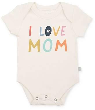 Finn & Emma Unisex I Love Mom Bodysuit - Baby