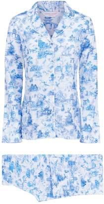 Derek Rose Ledbury Japanese Garden Pyjama Set