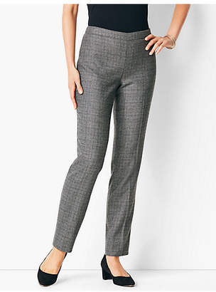 Talbots Italian Luxe Tweed Slim-Leg Pant