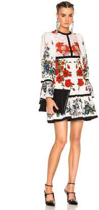 Alexander McQueen Printed Dress $3,795 thestylecure.com