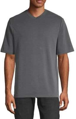Saks Fifth Avenue V-Neck Short-Sleeve T-Shirt