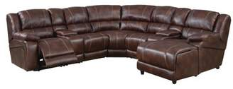 ACME Furniture ACME Zanthe Home Theater Set, Brown Polished Microfiber