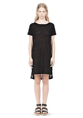 Alexander Wang Slub Classic Boatneck Dress