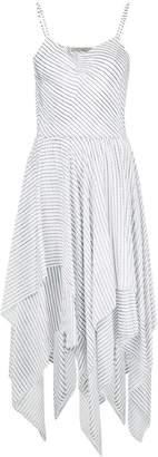 Preen Line striped handkerchief dress