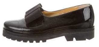 Walter Steiger Leather Flatform Oxfords