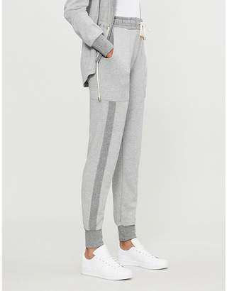 E.m. ME AND Tapered wool-blend jogging bottoms