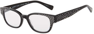 Eyebobs Study Abroad Square Acetate Reading Glasses, +1.75