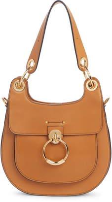 Chloé Medium Tess Calfskin Leather Hobo Bag