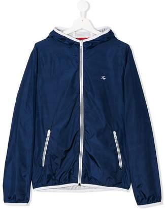 Fay Kids TEEN zip-up rain jacket