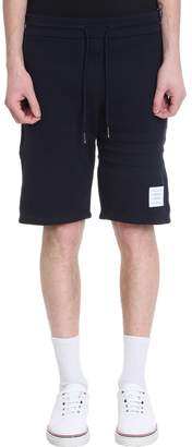Thom Browne Blue Cotton Shorts