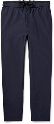 Public School Tapered Grosgrain-Trimmed Cotton-Blend Trousers $350 thestylecure.com