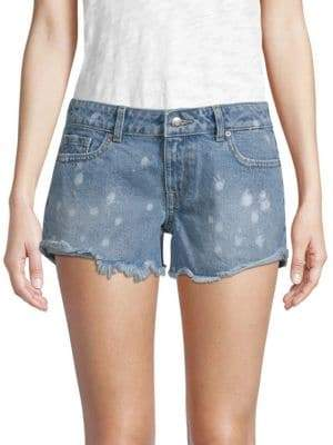 Renee Distressed Cotton Shorts