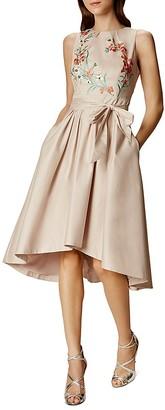 KAREN MILLEN Embroidered Party Dress $450 thestylecure.com