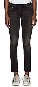 R 13 Women's Allison Skinny Jeans - Black Size 25