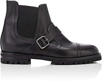 Manolo Blahnik Women's Traba Leather Chelsea Boots