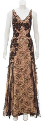 Couture Liancarlo Ruffled Lace Dress