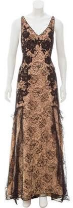 Couture Liancarlo Ruffled Lace Dress