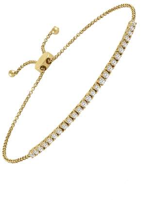 story. My Adjustable Diamond Bracelet - Yellow Gold