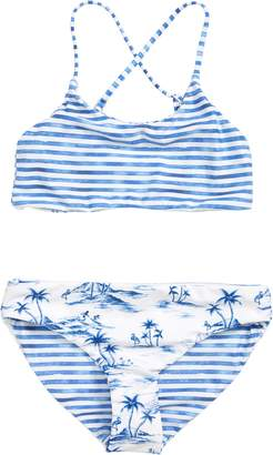 Seafolly Tropical Vibes Reversible Two-Piece Swimsuit