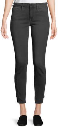 Frame Le Skinny Skinny-Leg Ankle Pants w/ Step Hem
