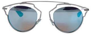 Christian Dior Tinted Round Sunglasses