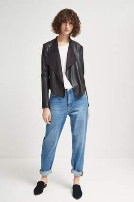 French Connenction Stephanie PU Waterfall Jacket