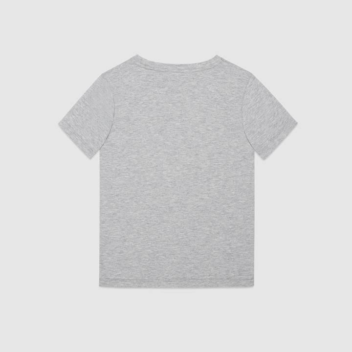 "Children's cotton t-shirt with ""Modern Future"" print 4"