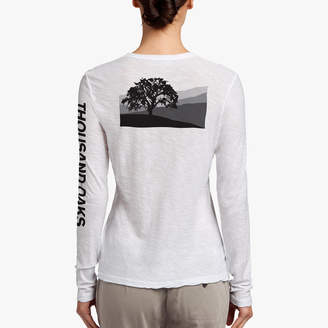James Perse THOUSAND OAKS RELIEF TEE