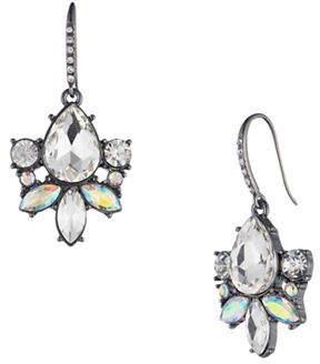 ABS by Allen Schwartz All Ears Crystal Drop Earrings